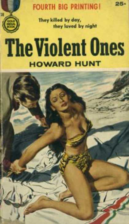 Gold Medal Books - The Violent Ones - E. Howard Hunt
