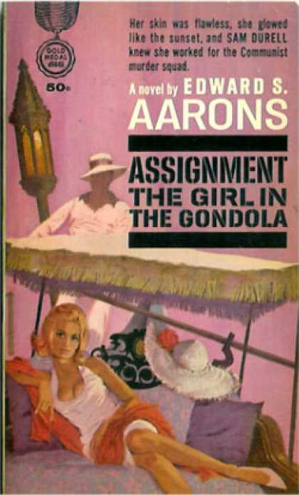 Gold Medal Books - Assignment the Girl In Gondola - Edward S. Aarons