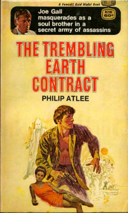 Gold Medal Books - The Trembling Earth Contract - Philip Atlee
