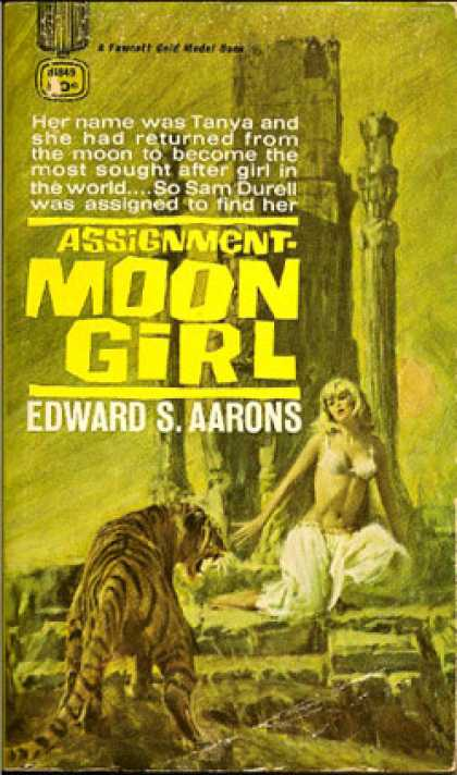 Gold Medal Books - Assignment Moon Girl - Edward S. Aarons