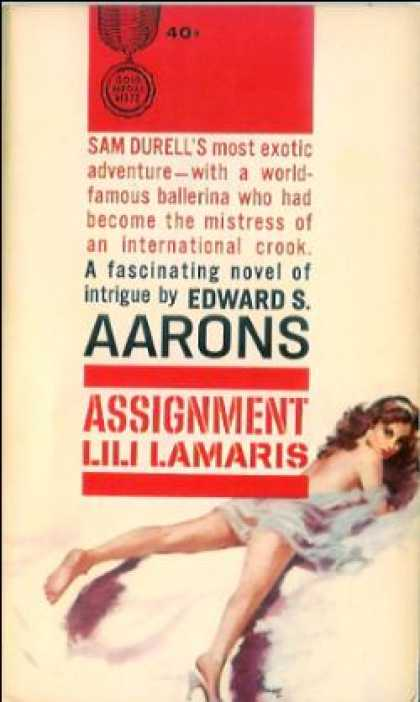 Gold Medal Books - Assignment, Lili Lamaris: An Original Gold Medal Novel - Edward S. Aarons