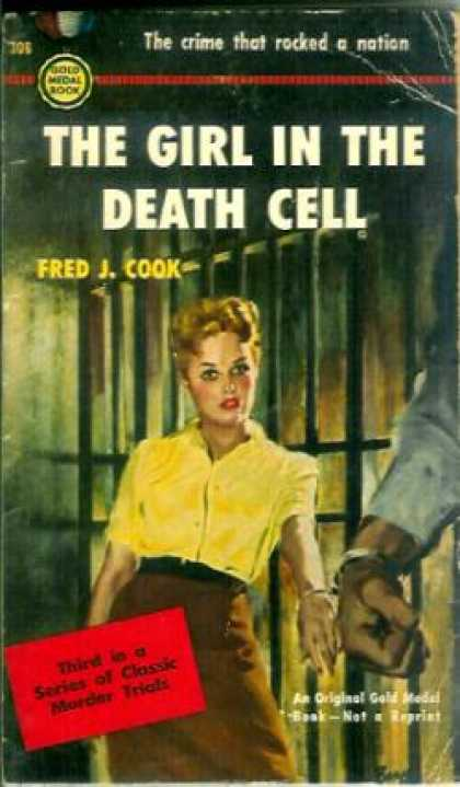 Gold Medal Books - The Girl In the Death Cell - Fred J Cook