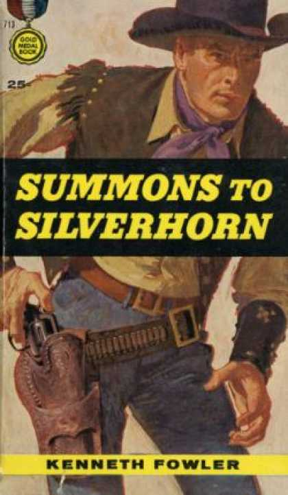 Gold Medal Books - Summons To Silverhorn