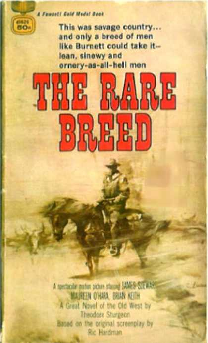 Gold Medal Books - Rare Breed, the - Theodore Sturgeon