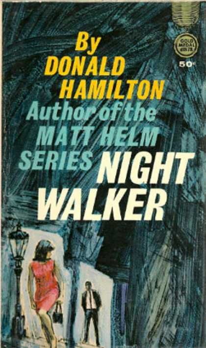 Gold Medal Books - Night Walker - Donald Hamilton