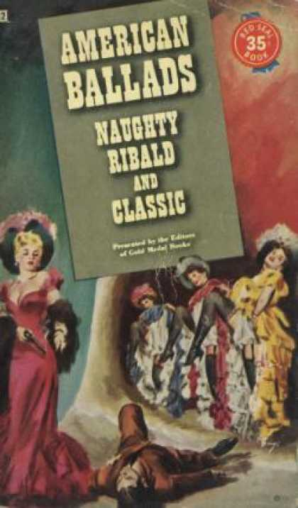 Gold Medal Books - American Ballads: Naughty Ribald and Classic