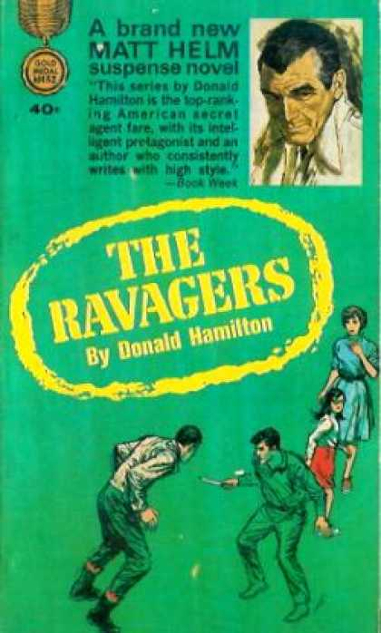 Gold Medal Books - The Ravagers - Donald Hamilton
