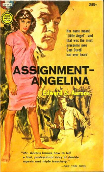 Gold Medal Books - Assignment Angelina - Edward S. Aarons