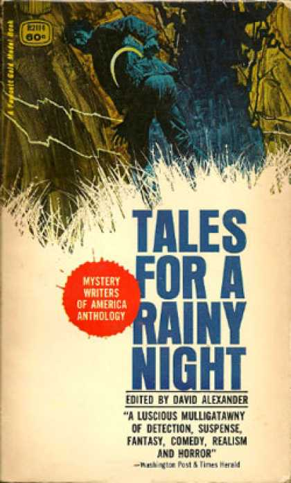 Gold Medal Books - Tales for a Rainy Night - David Alexander