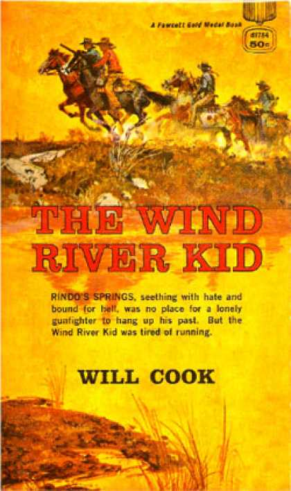 Gold Medal Books - The Wind River Kid
