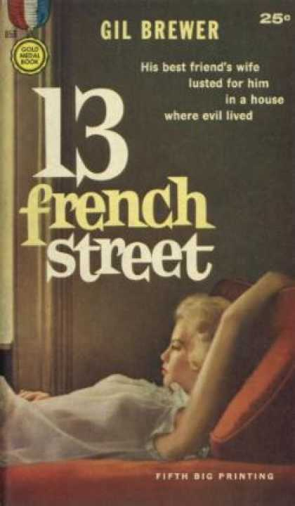 Gold Medal Books - 13 French Street - Gil Brewer