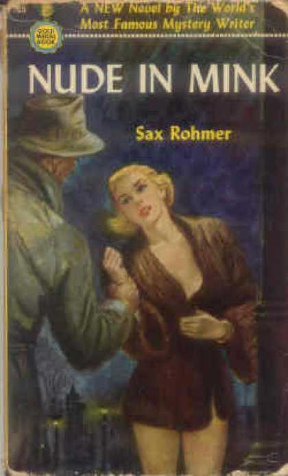 Gold Medal Books - Nude In Mink - Sax Rohmer