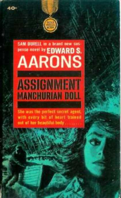 Gold Medal Books - Assignment Manchurian Doll - Edward S. Aarons