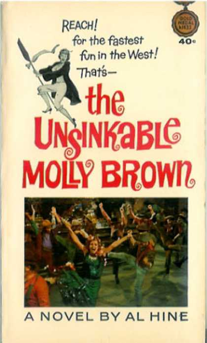 Gold Medal Books - The Unsinkable Molly Brown - Al Hine
