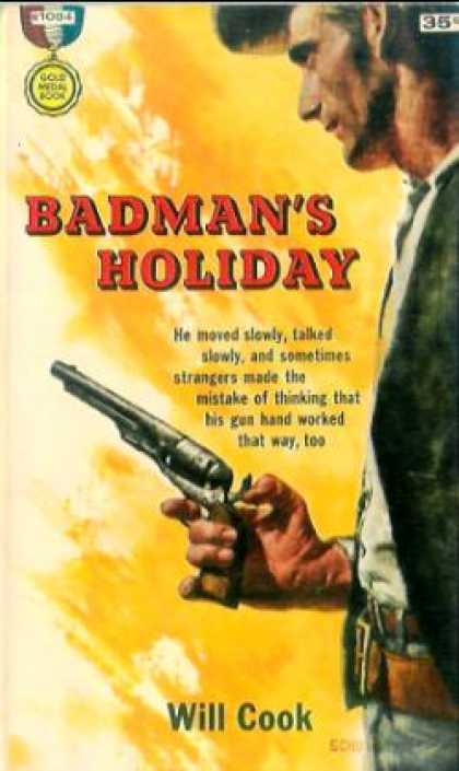 Gold Medal Books - Badman's Holiday - Will Cook