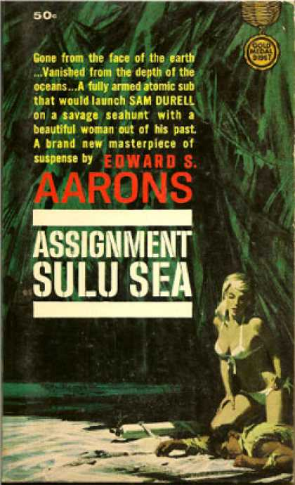 Gold Medal Books - Assignment Sulu Sea - Edward S. Aarons