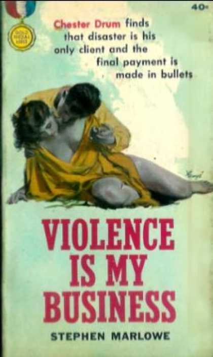 Gold Medal Books - Violence Is My Business - Stephen Marlowe