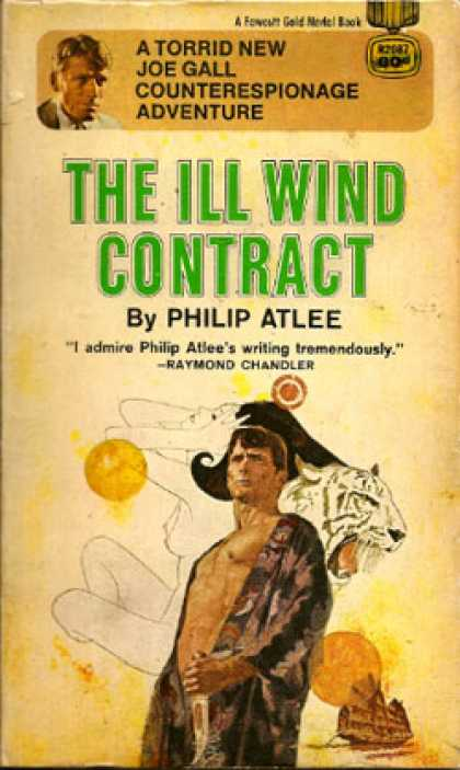 Gold Medal Books - The Ill Wind Contract - Philip Atlee