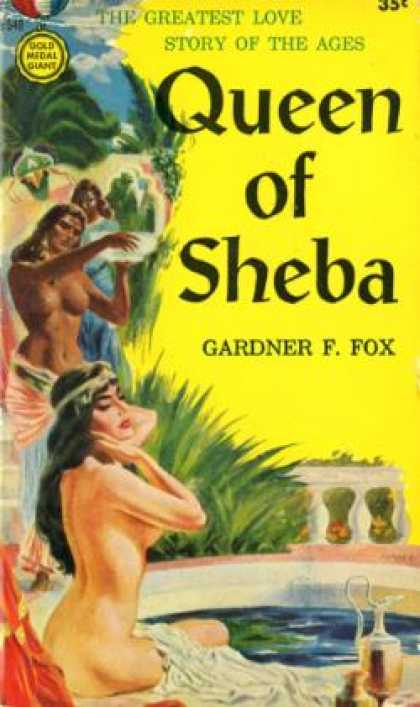 Gold Medal Books - Queen of Sheba - Gardner F Fox