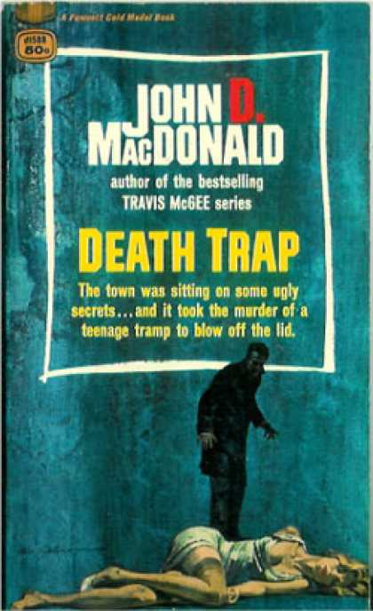 Gold Medal Books - Death Trap - John D. Macdonald