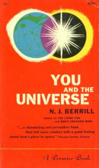 Gold Medal Books - You and the Universe - N. J. Berrill