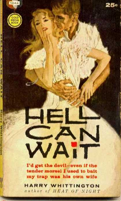 Gold Medal Books - Hell Can Wait - Harry Whittington