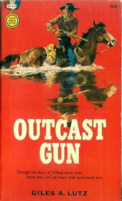 Gold Medal Books - Outcast Gun