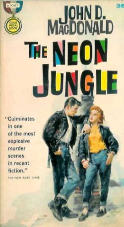 Gold Medal Books - The Neon Jungle