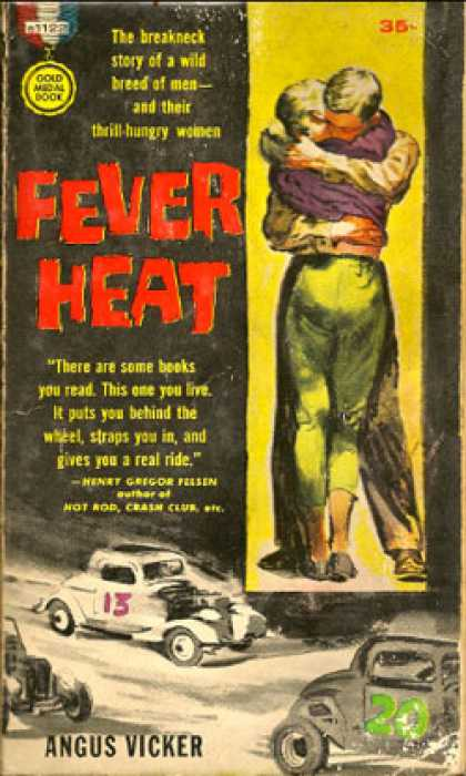 Gold Medal Books - Fever Heat - Augus Vicker