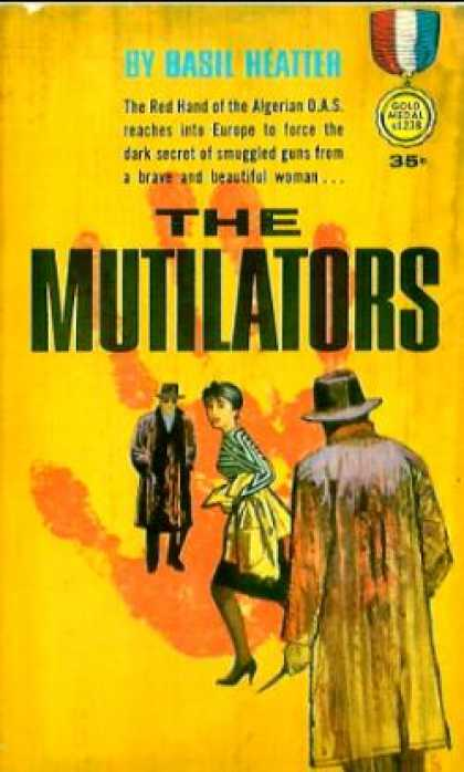 Gold Medal Books - The Mutilators - Basil Heatter