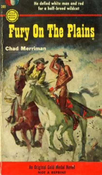 Gold Medal Books - Fury On the Plains - Chad Merriman