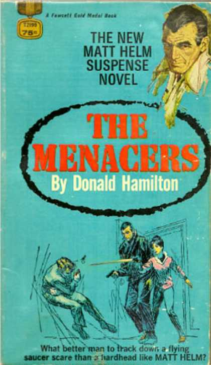 Gold Medal Books - The Menacers - Donald Hamilton