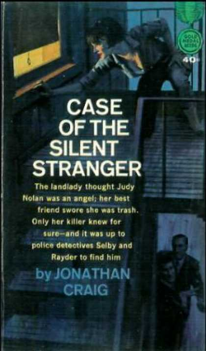 Gold Medal Books - Case of the Silent Stranger - Jonathan Craig