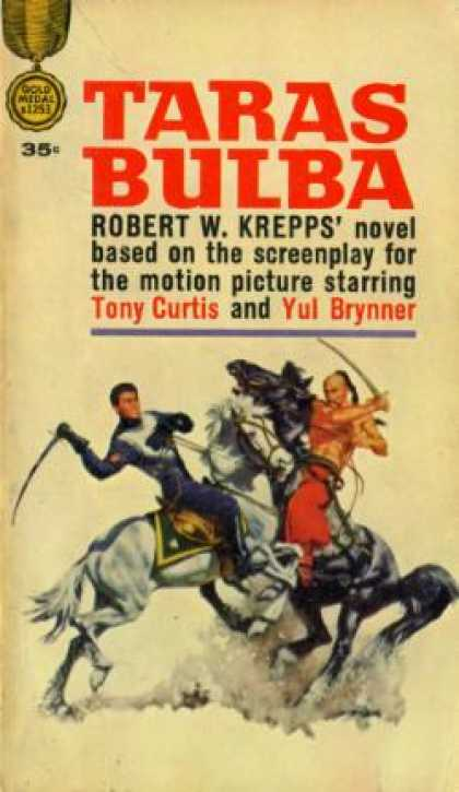 Gold Medal Books - Taras Bulba - Robert W. Krepps