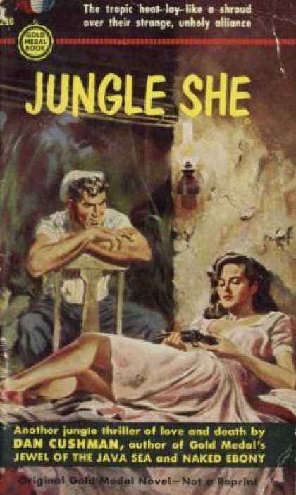 Gold Medal Books - Jungle She - Dan Cushman