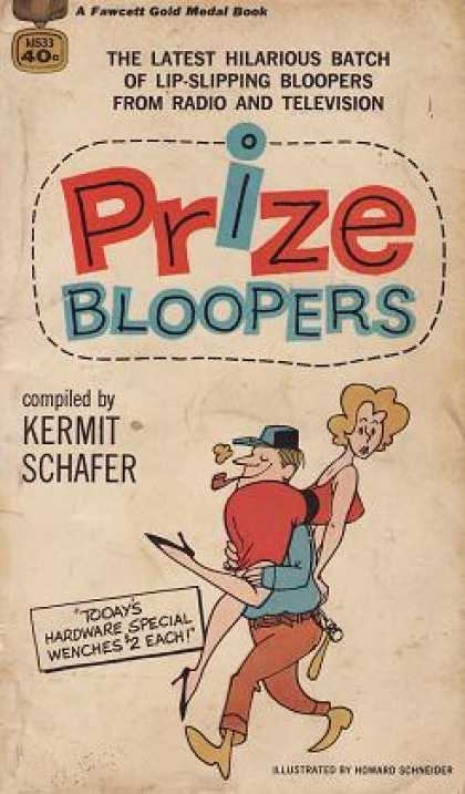 Gold Medal Books - Prize Bloopers - Kermit Schafer