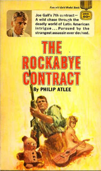 Gold Medal Books - The Rockabye Contract - Philip Atlee