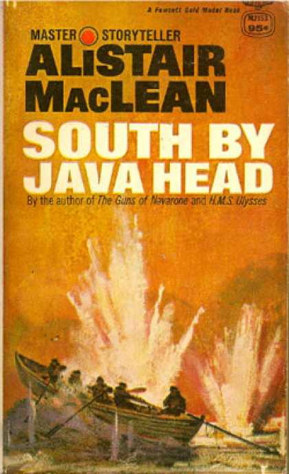 Gold Medal Books - South By Java Head