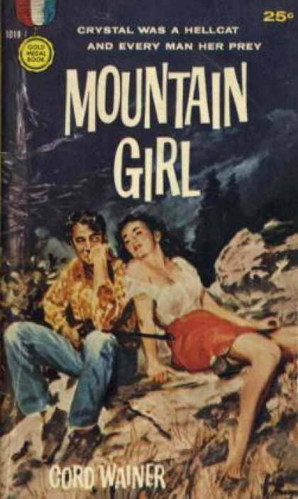 Gold Medal Books - Mountain Girl - Cord Wainer