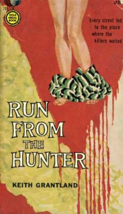 Gold Medal Books - Run From the Hunter