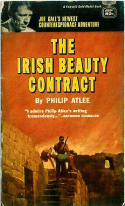 Gold Medal Books - The Irish Beauty Contract - Philip Atlee