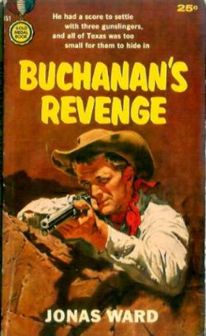 Gold Medal Books - Buchanan's Revenge - Jonas Ward