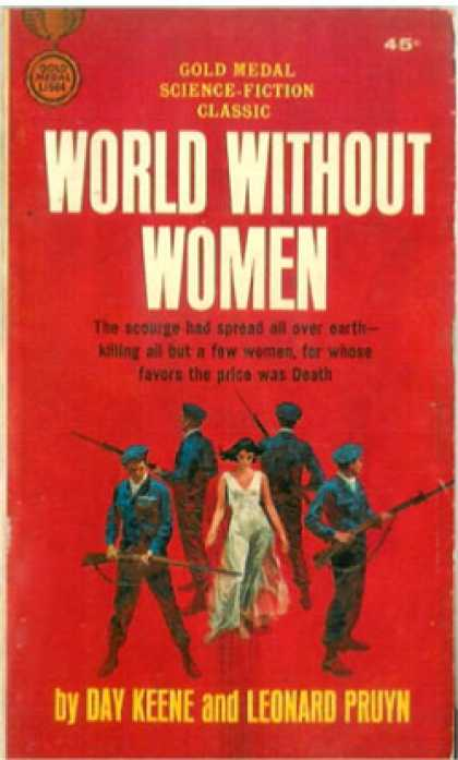 Gold Medal Books - World Without Women - Day Keene