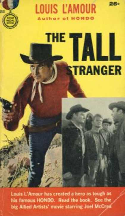 Gold Medal Books - The Tall Stranger - Louis L'amour