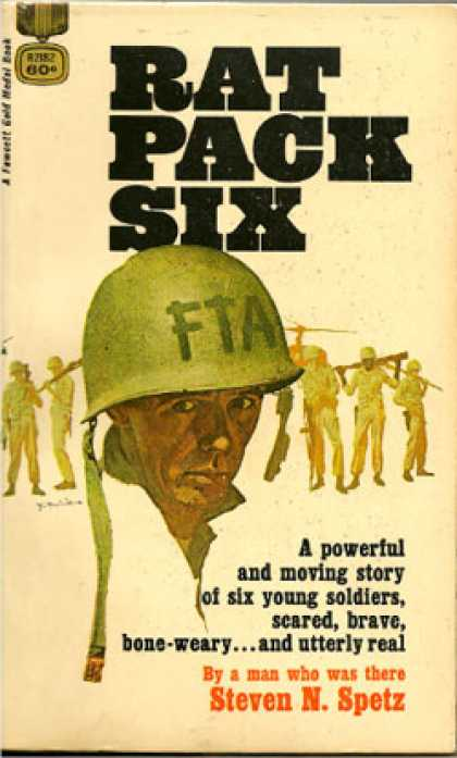 Gold Medal Books - Rat Pack Six - Steven N Spetz