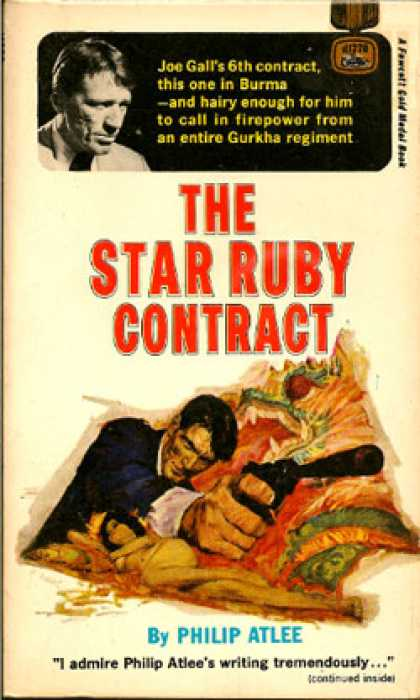 Gold Medal Books - The Star Ruby Contract
