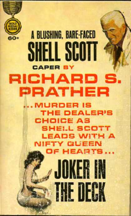 Gold Medal Books - Joker In the Deck - Richard S. Prather