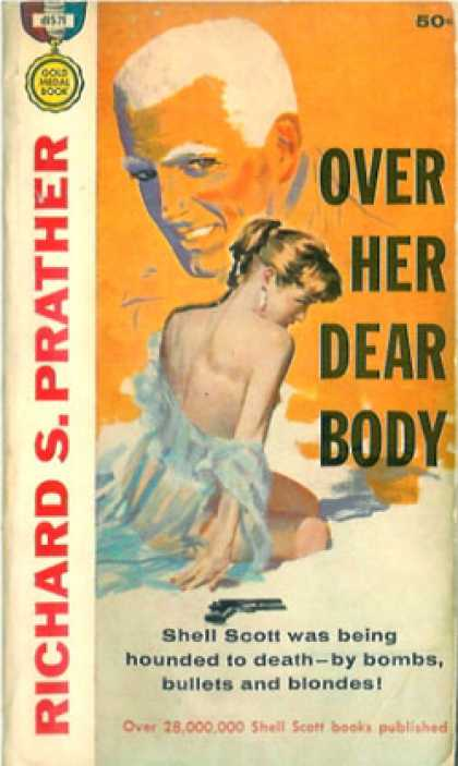 Gold Medal Books - Over her dear body - Richard S. Prather