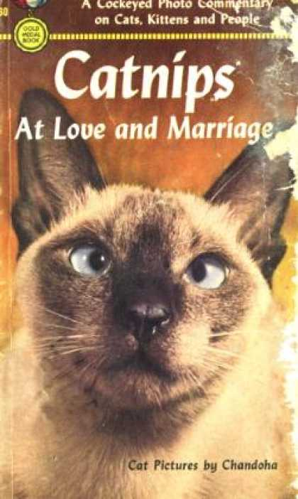 Gold Medal Books - Catnips at Love and Marriage - Rahr Dee