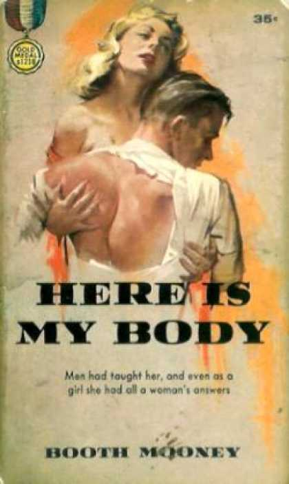 Gold Medal Books - Here Is My Body